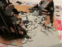 Building Warhammer 40k Ruins