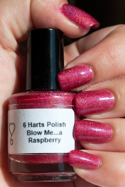 6 Harts Polish Blow Me... A Raspberry