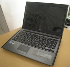 jual laptop gaming 2nd acer 4755g
