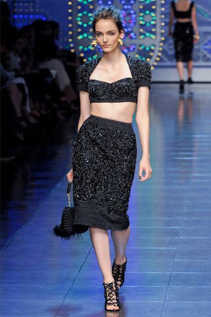 dolce gabbana66 - Dolce&Gabbana Ilkbahar 2012 | Milan Moda Haftas�
