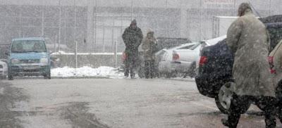 Εκτακτο δελτίο επιδείνωσης καιρού: Βροχές, καταιγίδες και χιόνια σε όλη τη χώρα