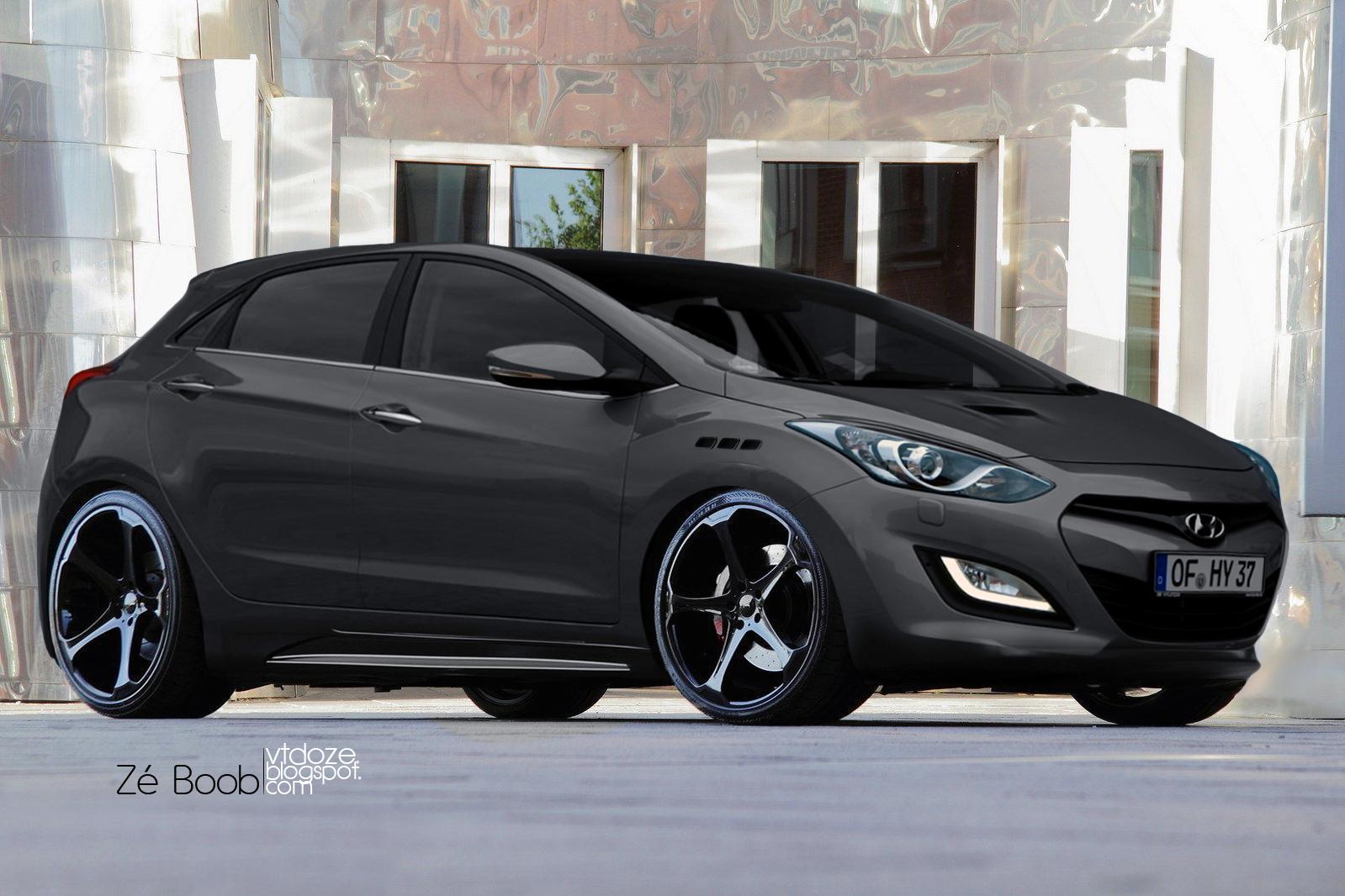 Ford Fusion St >> Virtual Tuning do Zé: i30