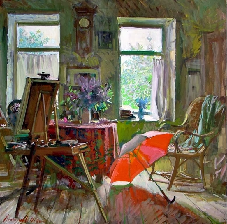 Pinturas cuadros lienzos cuadros al leo pinturas de - Cuadros de interiores ...