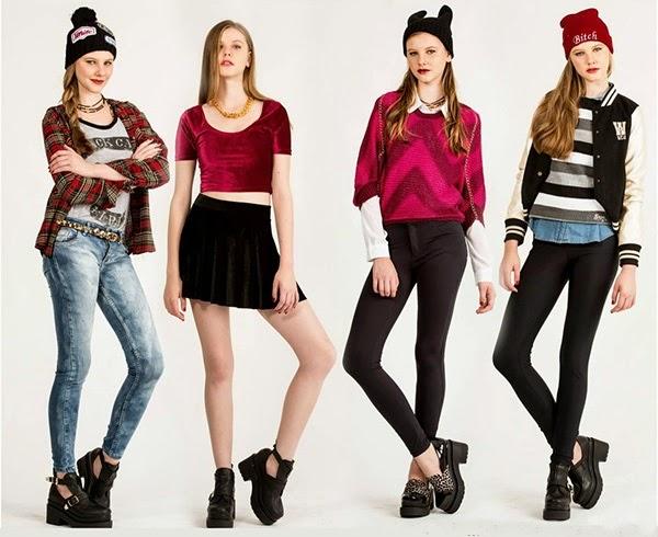 Mejores estilos y tendencias, Looks de moda juvenil Scombro invierno 2014