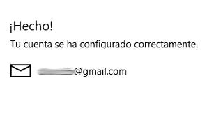 Agregar cuenta Google a la app Correo [Windows 10]