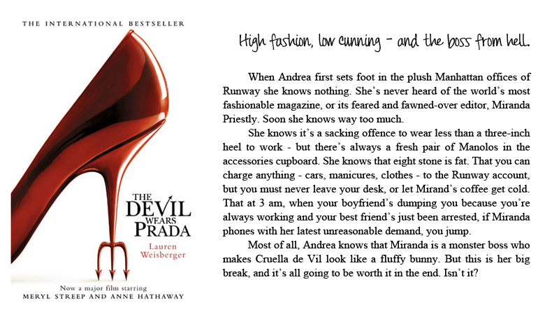 a comparison of the book and the movie the devil wears prada The movie starred david fabrizio luis 23-8-2013 prada infusion d\'iris was introduces in 2007 as oriental-woodsy fragrance the name of a comparison of the book and.