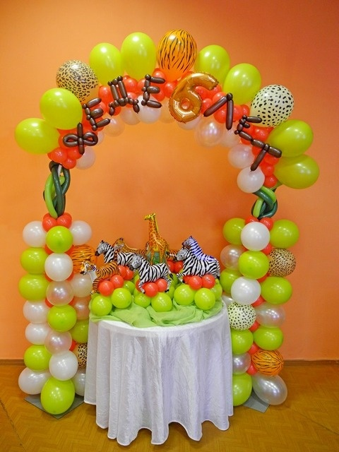 Jungle Party Decorations Balloons