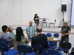 Reunião do Conselho Municipal de Cultura de Abreu e Lima em 2011 com a Presença da Oásis