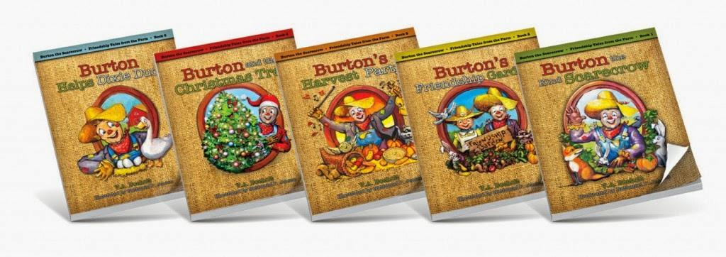 burtonthe scarecrow book series