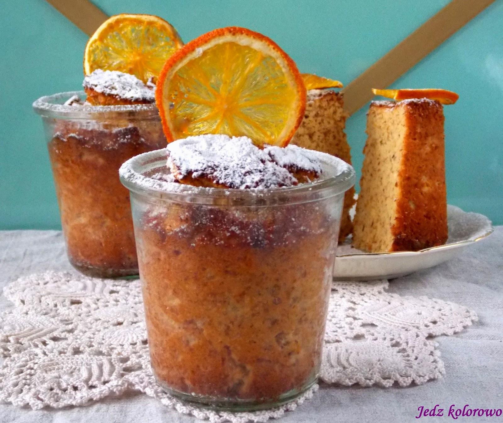 ciasto z całą pomarańczą