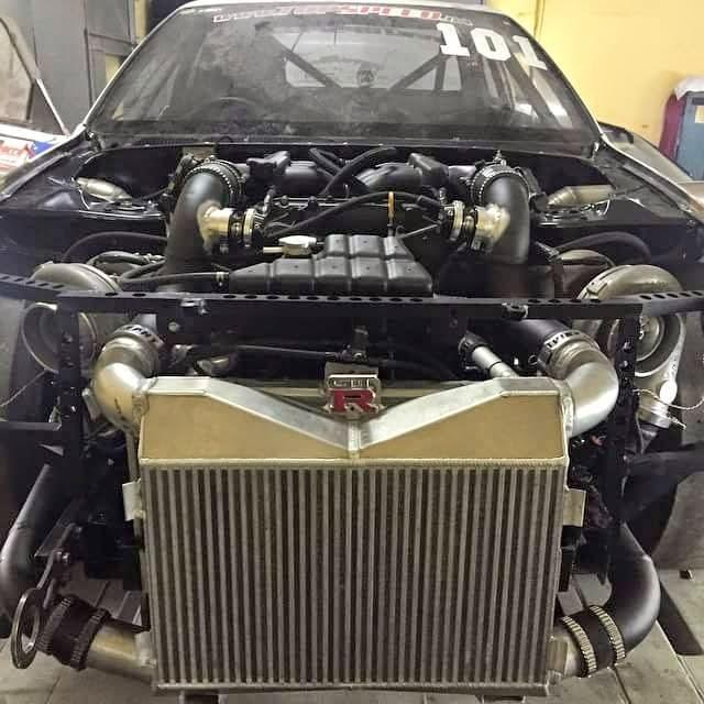 VR38 Powered Nissan Skyline GT-R - R32 from Top Speed Ukraine ...