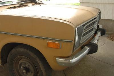 1971 Datsun 1200 Fastback.