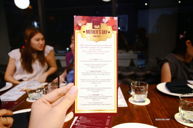 Mother's Day Menu @ The Gastro Project Petaling Jaya