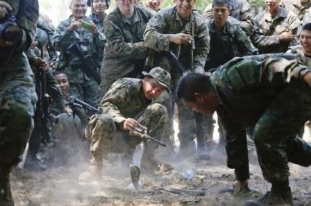 Latihan Membunuh Pasukan Tentera Marin Amerika