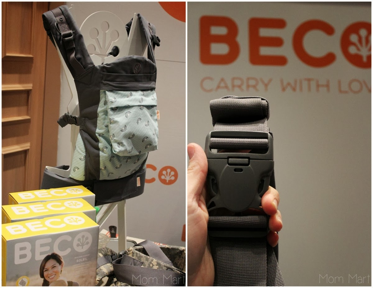 2014 Beco Soleil at #MommyCon #MommyConChicago #BabyWearing #BecoBaby