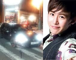 Keccelakaan Nickhun 2PM - globelensa.blogspot.com