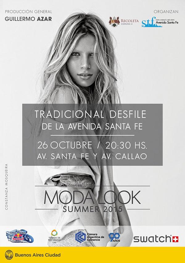 Desfiles Mda Look Buenos Aires primavera verano 2015, entrada libre y gratuita.