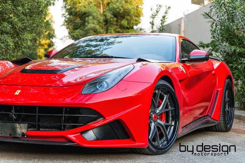 「by design」が手掛けたノヴィテックロッソのフェラーリF12ベルリネッタ「F12 N-Largo」