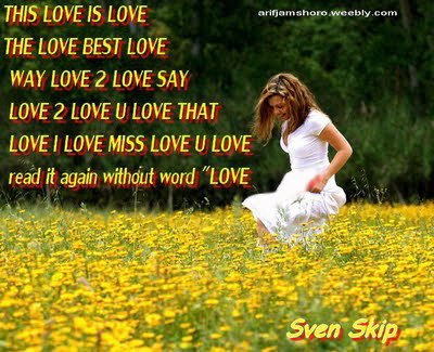 Sad love poetry in english