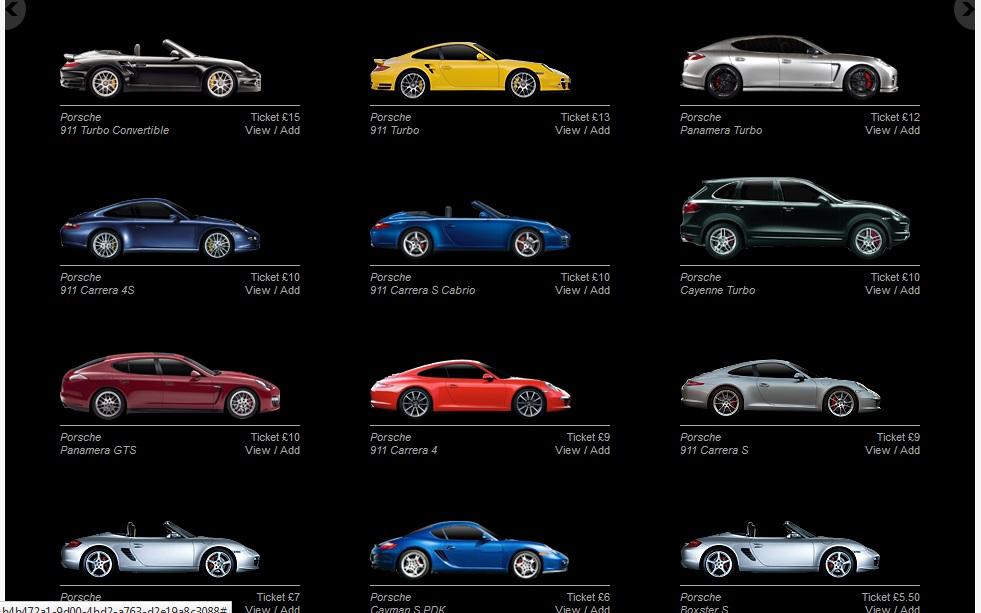 Different Models of Porsche