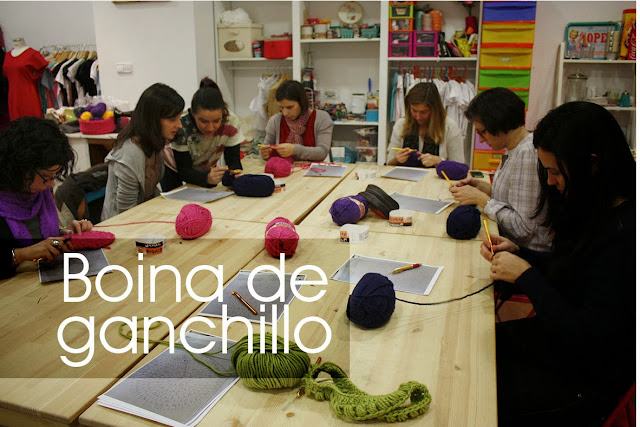 Taller moonográfico Boina de ganchillo en Sweet sixteen craft store