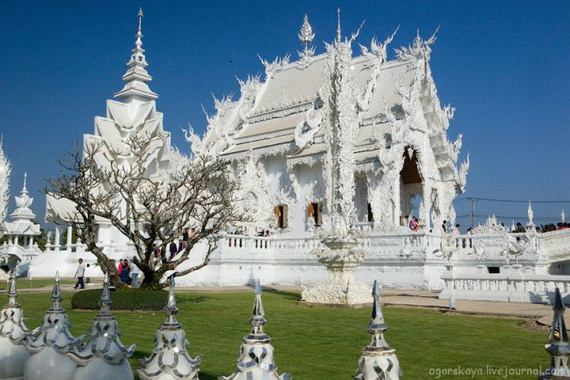Wat rong khun white temple of thailand nice n funny - Architektonische meisterwerke ...