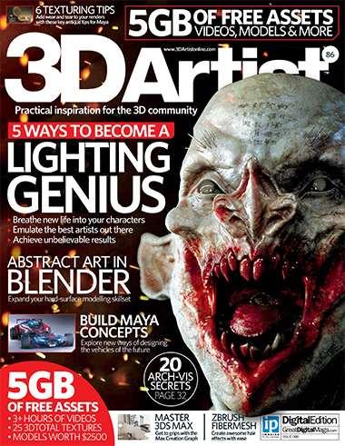 3D Artist Magazine Issue 86 2015