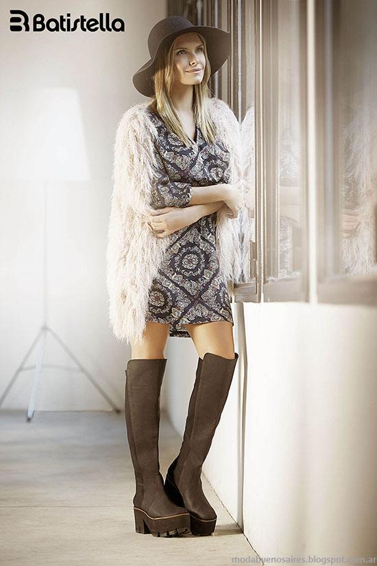 Botas bucaneras invierno 2015 Batistella. Moda botas invierno 2015.