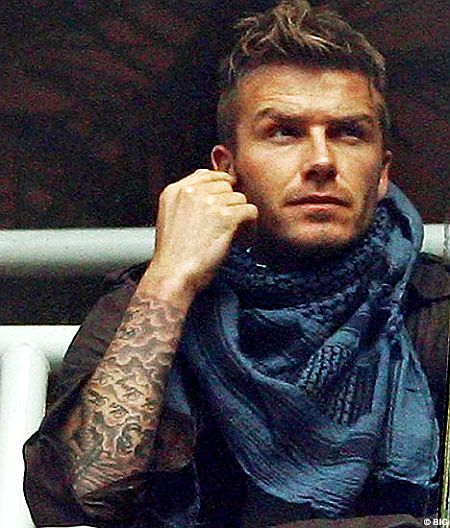 david beckham playing soccer 2009. Beckham describing his
