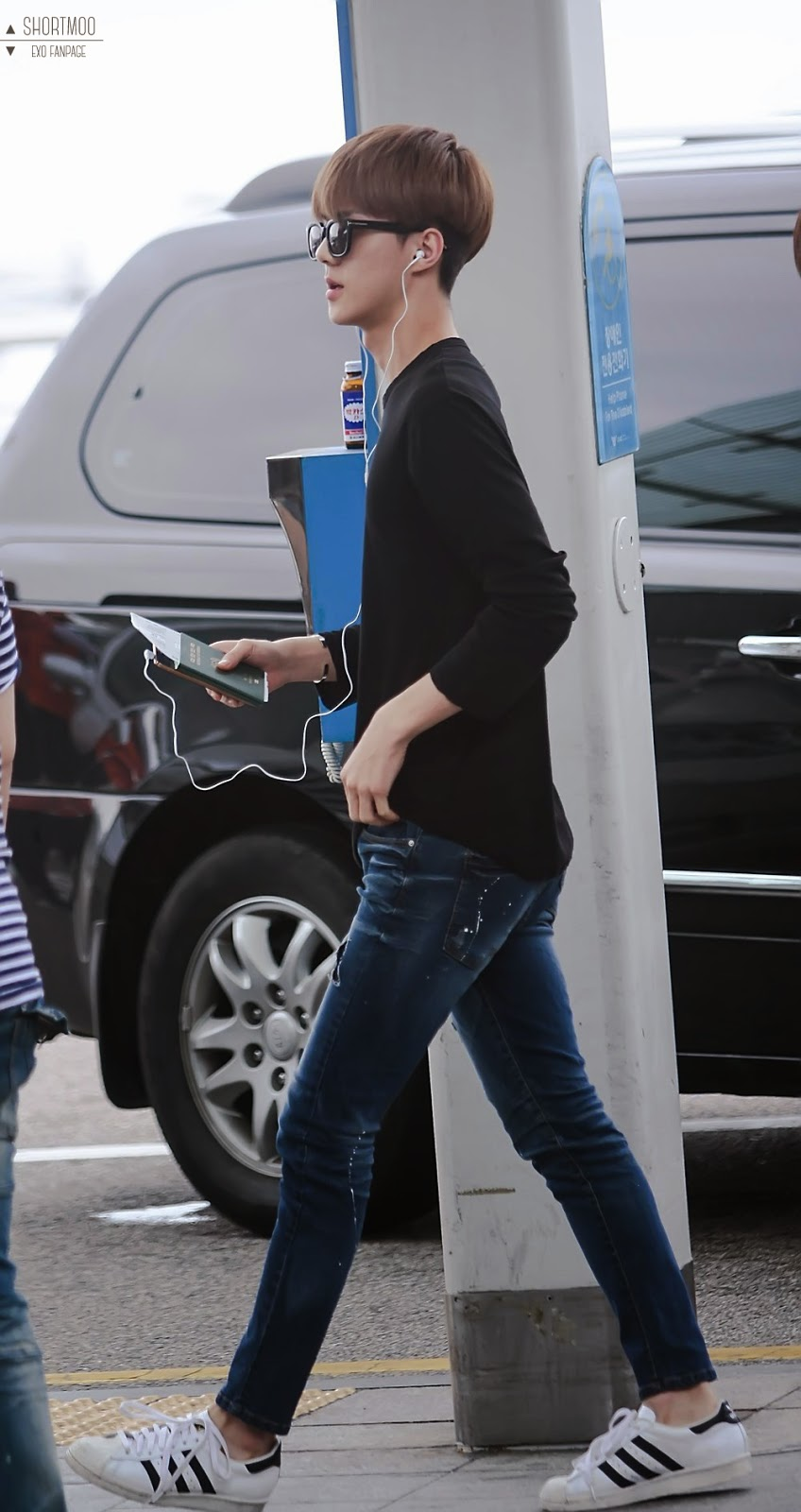 exo sehun airport fashion official korean fashion