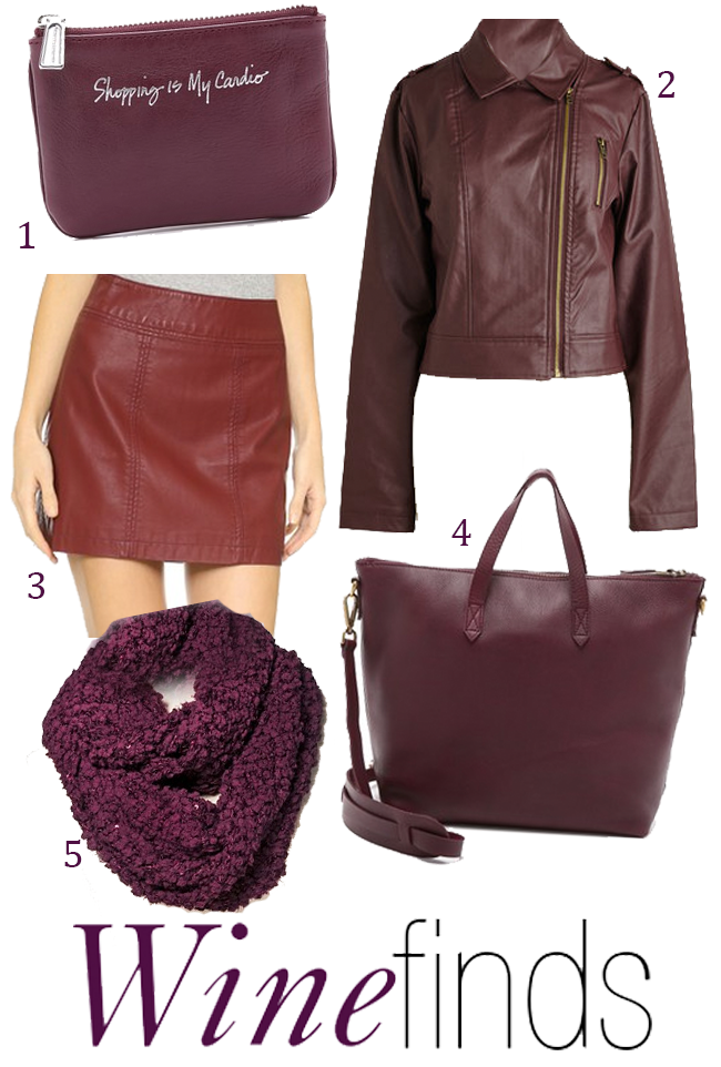 Burgundy Fall Finds