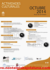 ACTIVIDADES CULTURALES ARCOS OCTUBRE 2014