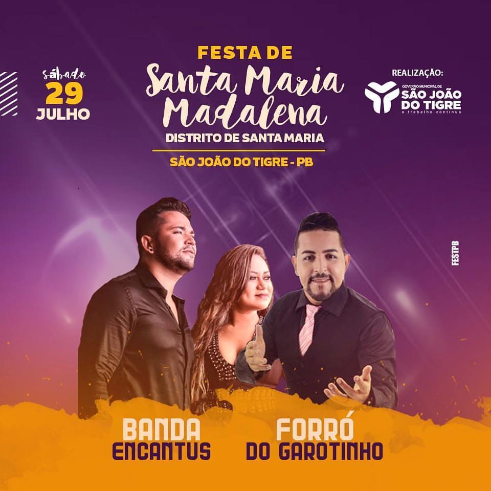 FESTA DE SANTA MARIA - S. J. TIGRE-PB