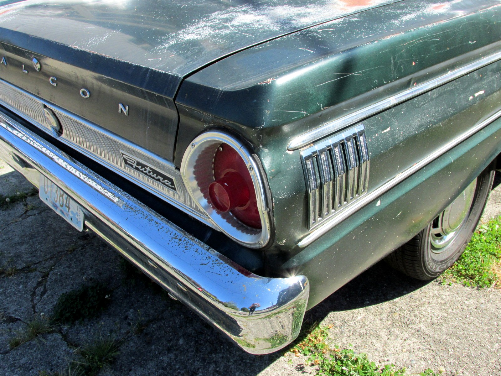 Seattles Classics 1964 Ford Falcon Futura Sedan Convertible