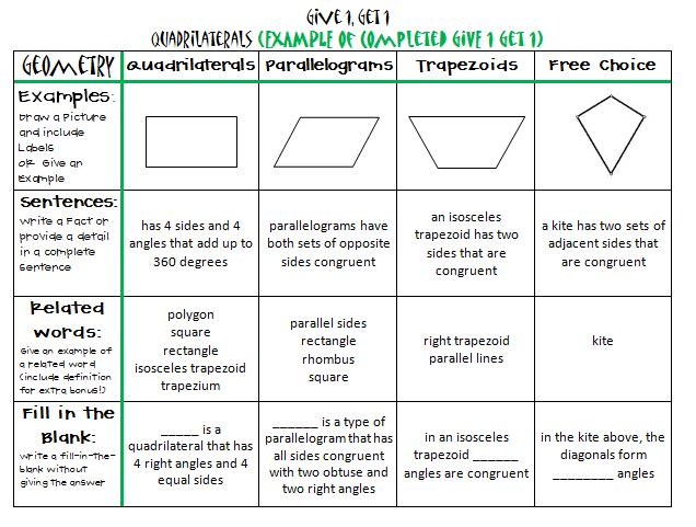 Printables Geometry Vocabulary Worksheets geometry vocabulary worksheets 4th grade and math worksheet nc eog released test reading 2013 5th eog