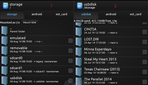 Cara Menggunakan Flasdisk Di Android menggunakan kabel  usb otg 3