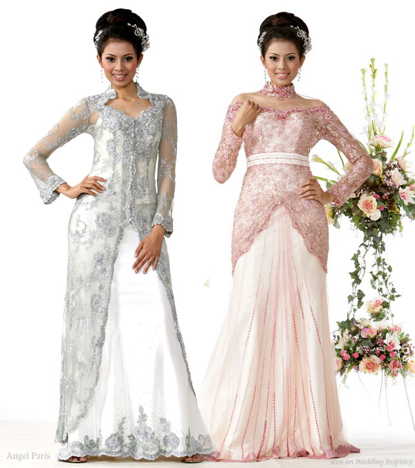 Indonesian Wedding Dresses