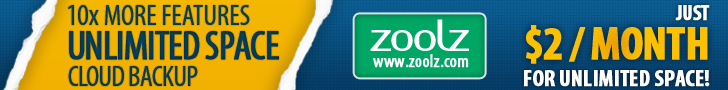 Zoolz Unlimited Discount Coupon Code special offer
