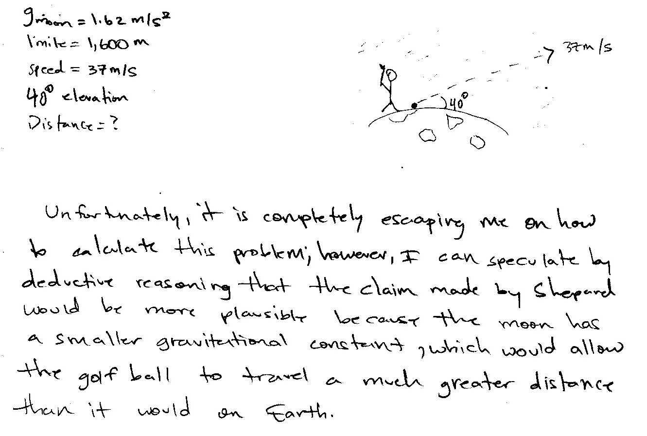 apollo 13 physics essay