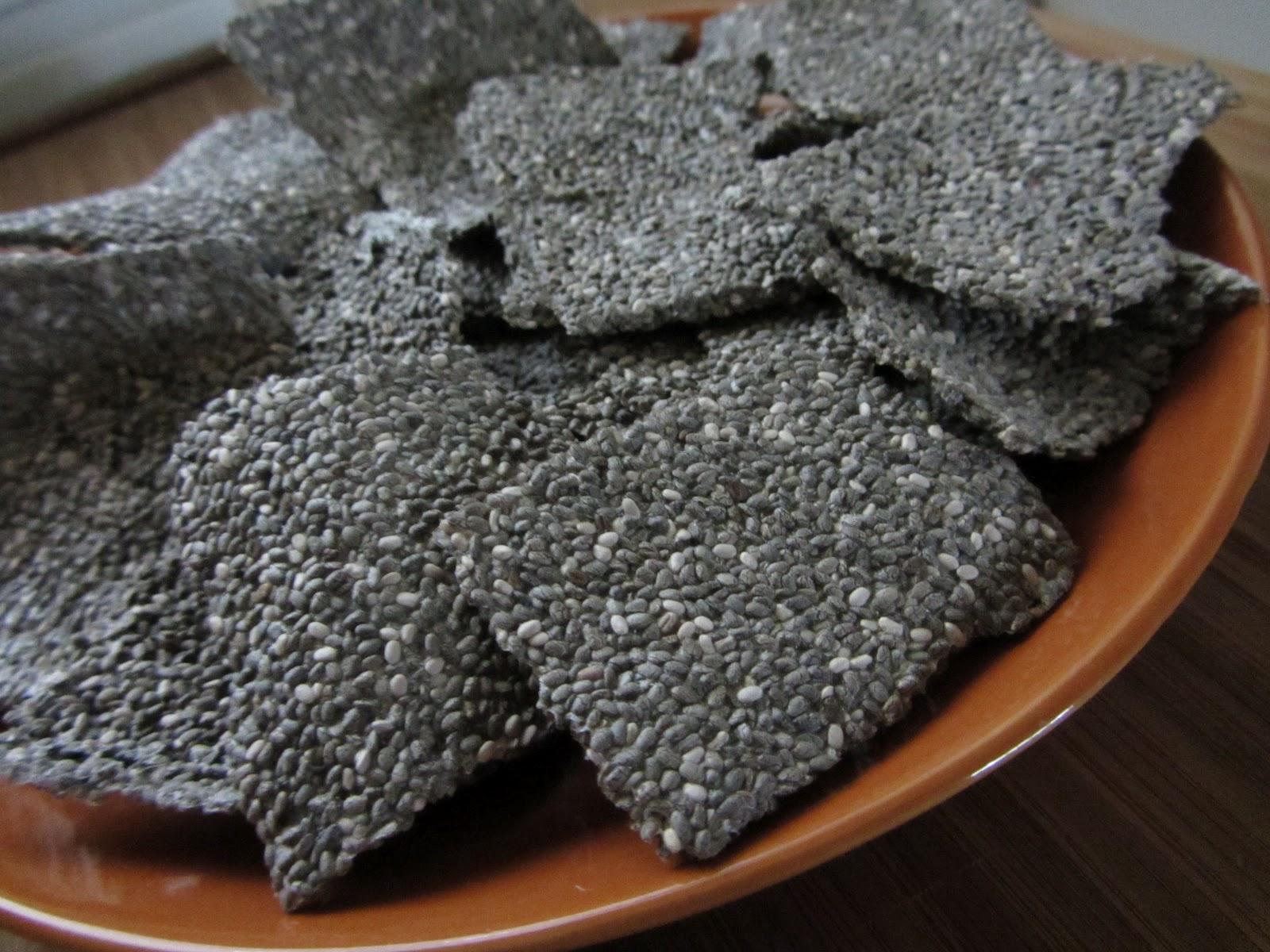 How to Make . . . Chia Crackers