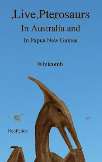 cover of new ebook on modern pterosaurs in southwest Pacific