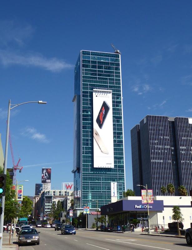Apple iPhone 6s billboard Sunset Vine