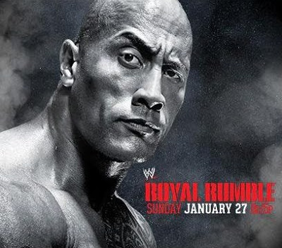 la roca reaparece en la imagen del ppv royal rumble del año 2013, protagonista en poster de Royal Rumble 2013