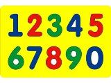Учись писать цифры