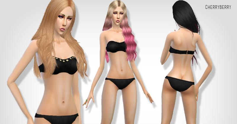 cherryberry • Custom Content : I dare you bikini