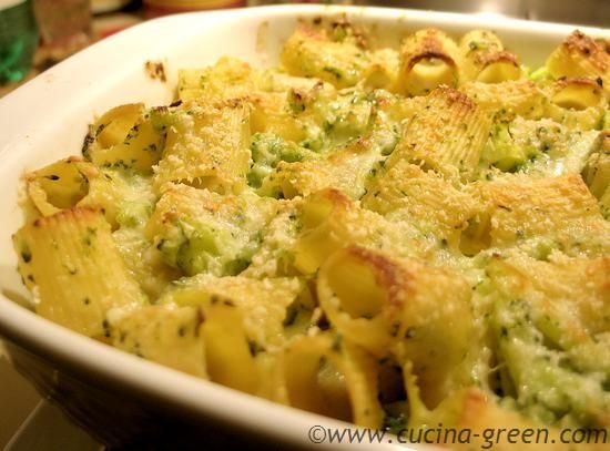 Ricetta pasta a forno con broccoli