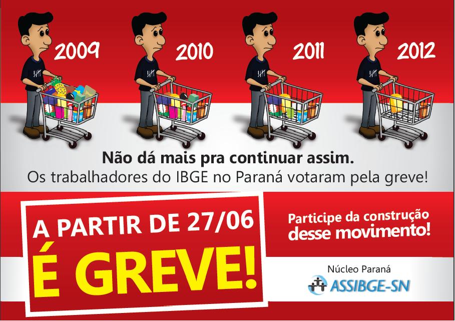 IBGE em GREVE