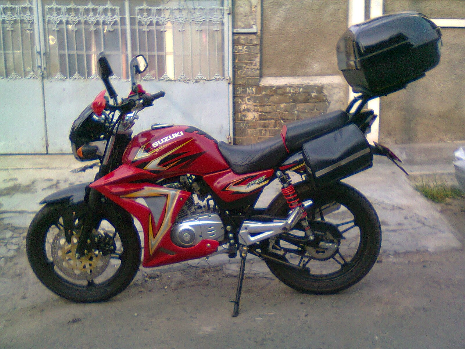 modifikasi motor thunder 125 touring