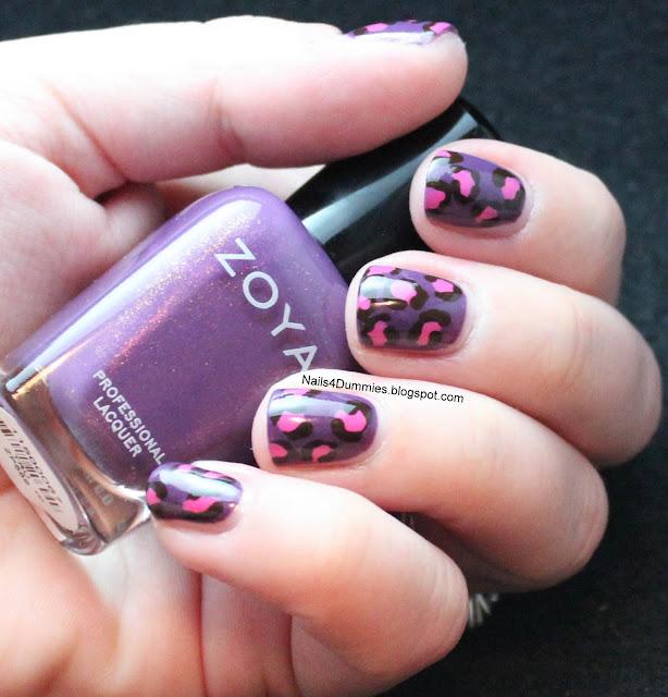 Nails4Dummies - Leopard Print Nails