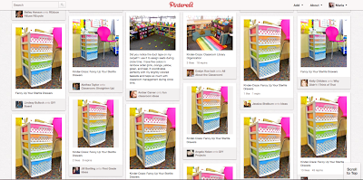 lots of pins on Pinterest